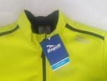 Pánská cyklistická bunda Rogelli Pesaro 2.0 fluoritová-žlutá, L