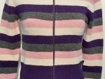 Dámský svetr propínací zip, 49